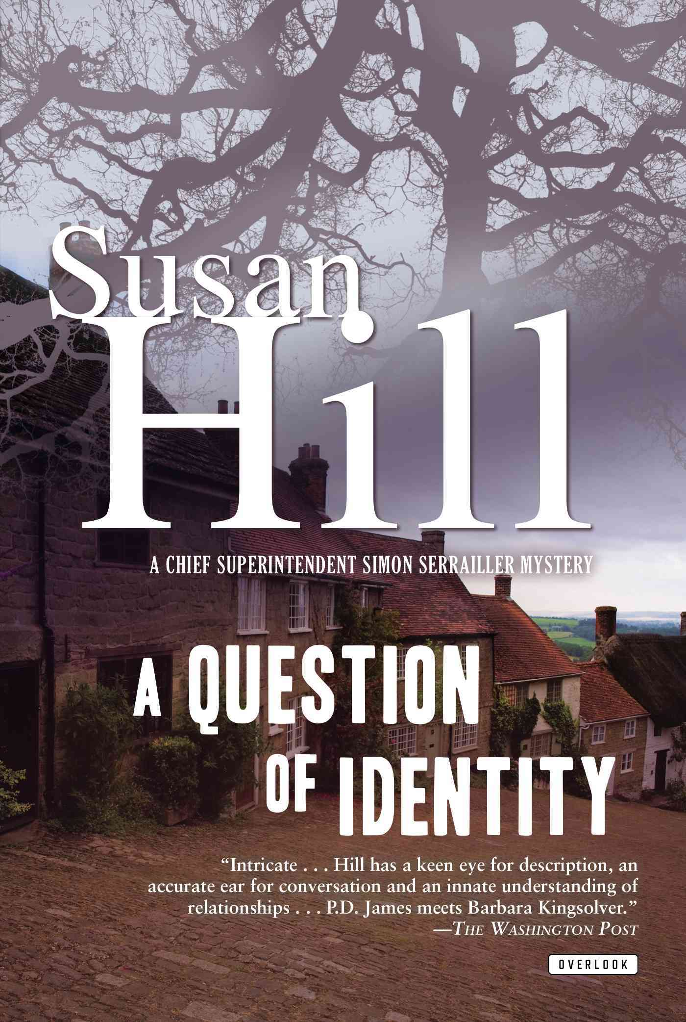 A Question of Identity By Hill, Susan